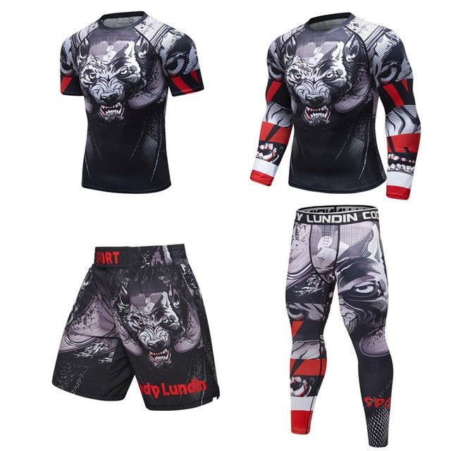 Wolf 'Prey' Elite Fight Shorts