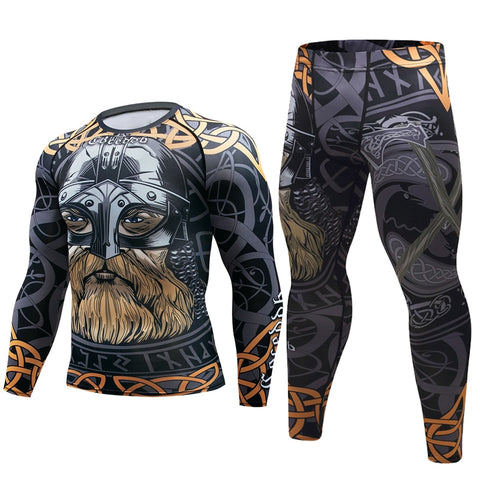 Viking Compression Elite Long Sleeve Rashguard Set