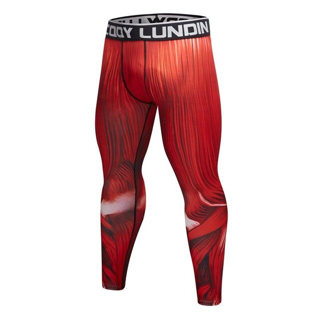 Musculature Compression Leggings Spats