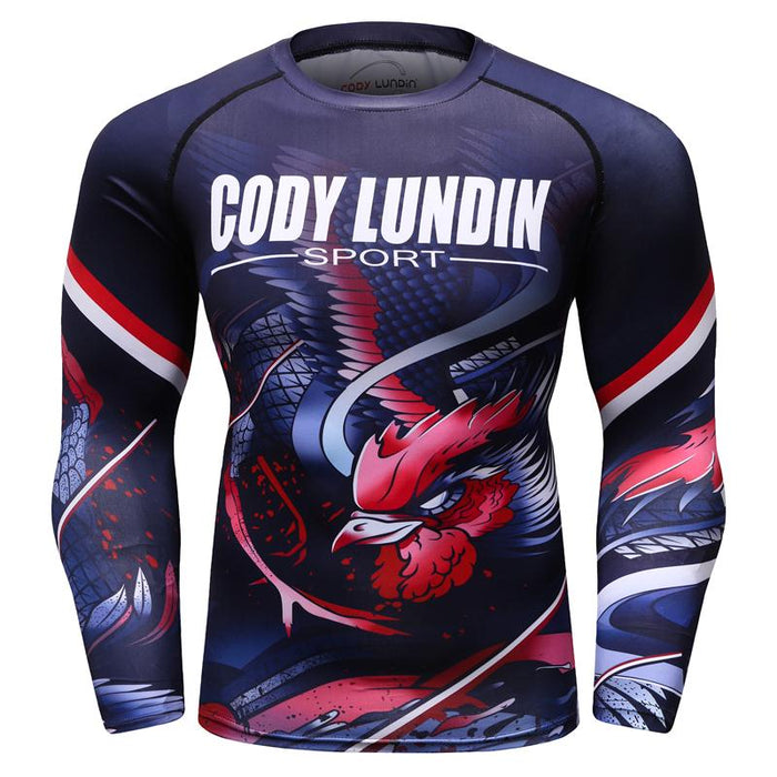 Phoenix Compression 'Bird of Prey' Short Sleeve Rashguard