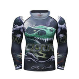 T Rex Compression Elite Long Sleeve Rashguard