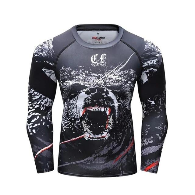 Bear Compression Elite Long Sleeve Rashguard