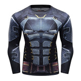 Batman Compression 'Dark Knight | Tumbler' Elite Long Sleeve Rashguard