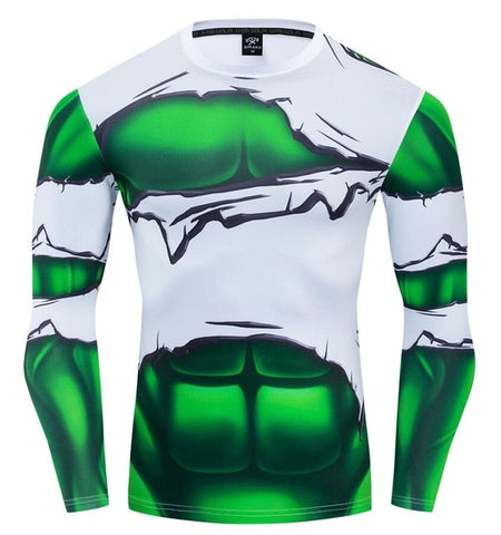 "Smash Compression ""Torn"" Long Sleeve Rashguard"