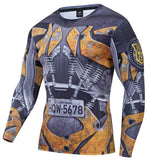 Transformers 'BumbleBee' Compression Long Sleeve Rashguard