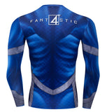 Fantastic Four Compression Long Sleeve Rashguard