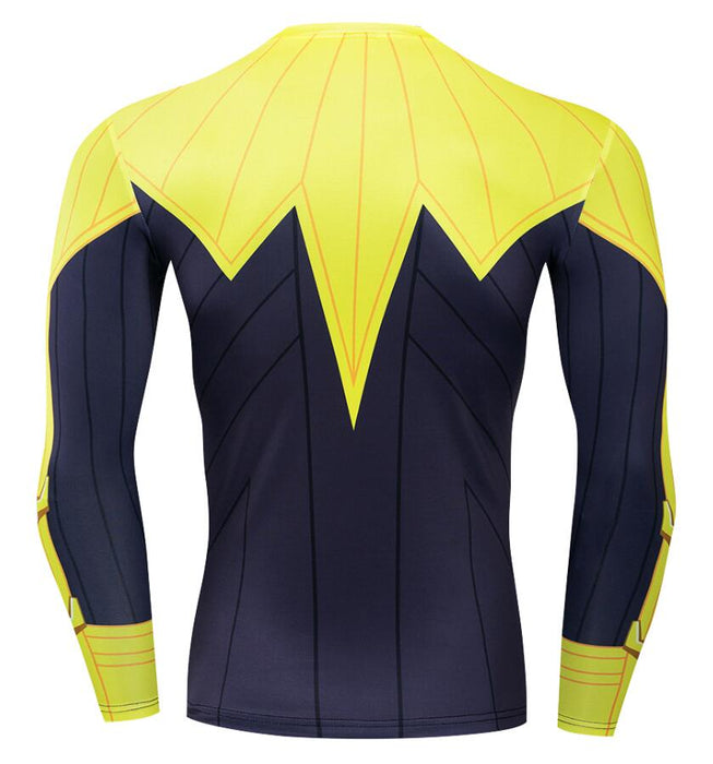 Green Lantern Sinestro Compression 'Comic' Long Sleeve Rashguard