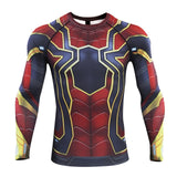 Spiderman Compression 'Far From Home | Iron Spider' Long Sleeve Rashguard