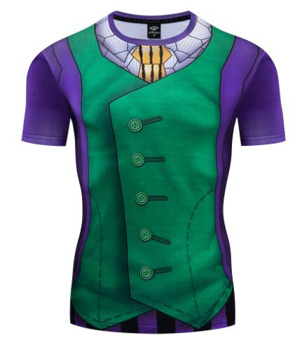 The Joker Compression Short Sleeve Rashguard