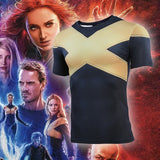 Women's X Men Compression 'Dark Phoenix' Short Sleeve Rashguard