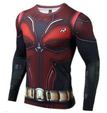 Robin 'Modern' Long Sleeve Compression Rash Guard-RashGuardStore