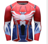 Spiderman '2018' Compression Long Sleeve Rashguard-RashGuardStore