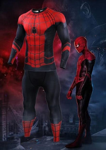 b2e8b742130e7d Spiderman 'Far From Home' Compression Set-RashGuardStore