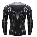 "Spiderman ""Symbiote 2"" Compression Long Sleeve Rashguard"