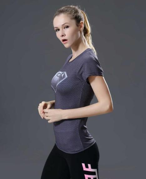 Supergirl 'Daughter Of Krypton' Compression Short Sleeve Rash Guard-RashGuardStore