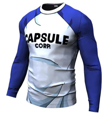 Teen Trunks Dragon Ball Z Long Sleeve Compression Rash Guard-RashGuardStore
