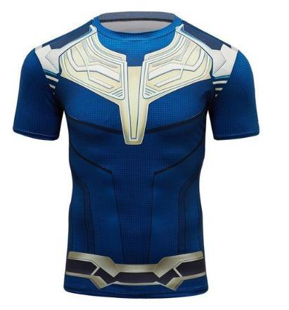 Thanos Short Sleeve Compression Rashguard-RashGuardStore