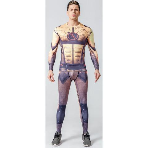 "The Flash ""Reverse"" Compression Set-RashGuardStore"