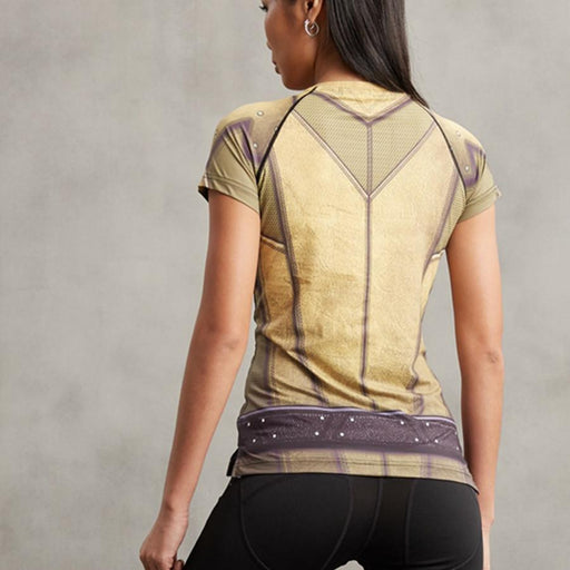 "The Flash ""Reverse"" Women's Compression Rashguard-RashGuardStore"