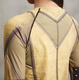 "The Flash ""Reverse"" Women's Long Sleeve Compression Rashguard-RashGuardStore"