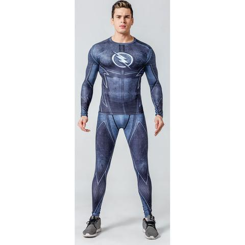 "The Flash ""Zoom"" Compression Set-RashGuardStore"