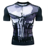 The Punisher Short Sleeve Dri-Fit Rashguard-RashGuardStore