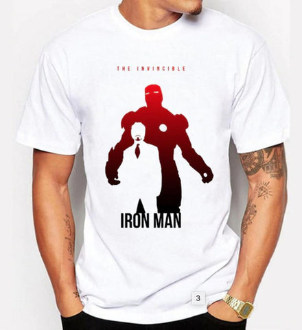 The Tony Stark/Iron Man Shadow Avengers T-Shirt-RashGuardStore
