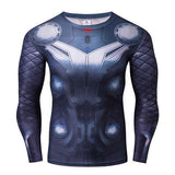 Thor 'Original Mcu' Long Sleeve Compression Rashguard-RashGuardStore