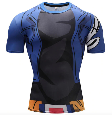 Trunks Dragon Ball Z Compression Rash Guard-RashGuardStore