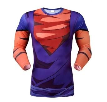 Vegito Armor Dragon Ball Z Compression Long Sleeve Rash Guard-RashGuardStore