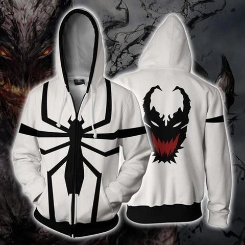 Venom 'Anti-Venom' Zip Up Hoodie-RashGuardStore