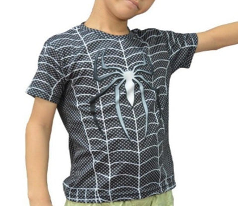Venom Kid's Compression Short Sleeve Rashguard-RashGuardStore