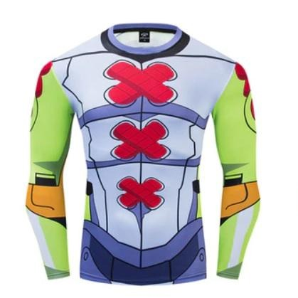 Digimon Compression 'Wargreymon' Premium Long Sleeve Rashguard