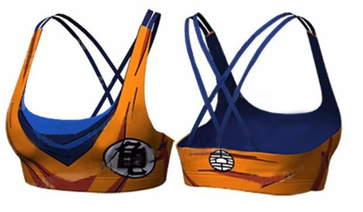 Women's Goku Dragon Ball Z Bra-RashGuardStore