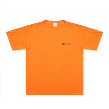 COURT CROP T SHIRT (PALE ORANGE)