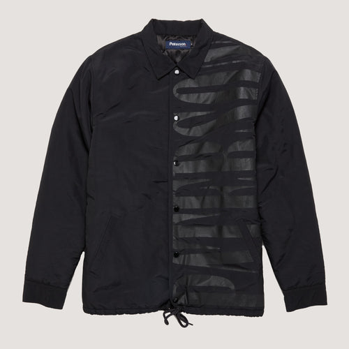 NIGHTFALL COACHES JACKET - BLACK