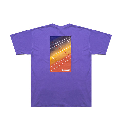 COURT CROP T SHIRT (LAVENDER)