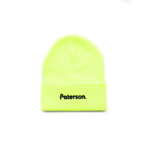 OG LOG BEANIE (SAFETY GREEN)