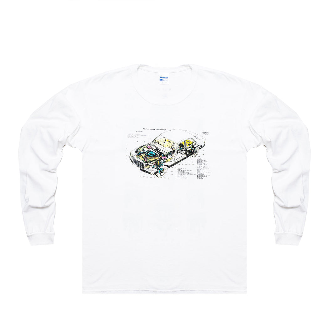 JOY RIDE LONG SLEEVE (WHITE)