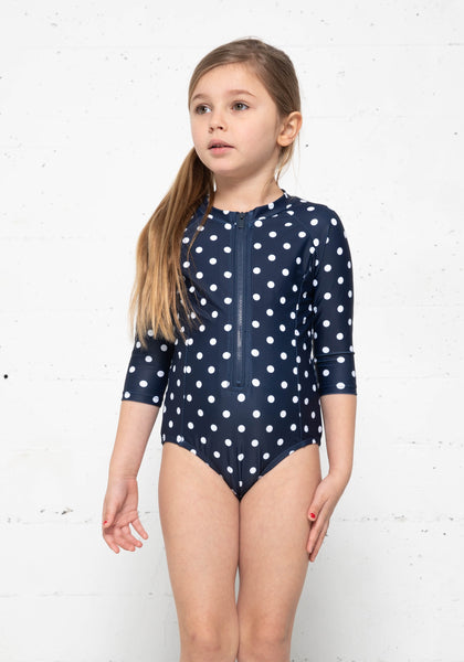 K4802-Navy Wht Dot