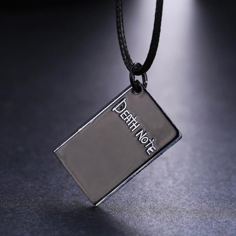 Anime Warehouse | Death Note Notebook - Death Note Metal Necklace Pendant