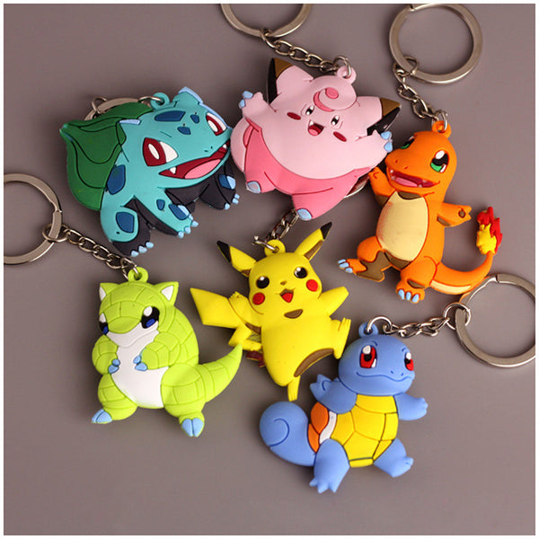Anime Warehouse | 3D Pokemon Go Keychains