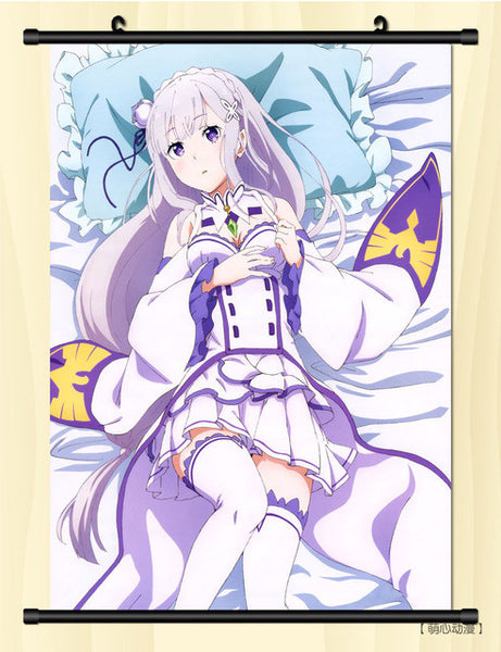 Re:Zero − Starting Life in Another World Wall Scroll (40 X 60cm / 16 X 23.62 inches)