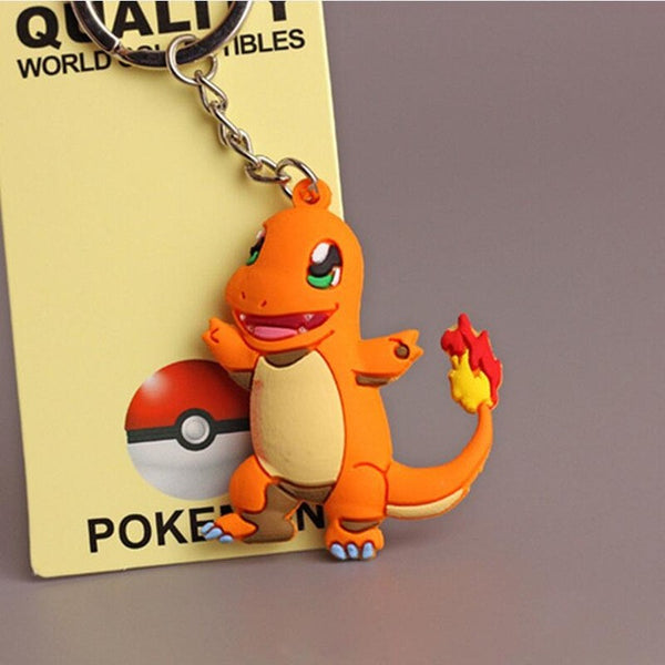 3D Pokemon Go Key Ring Keychains