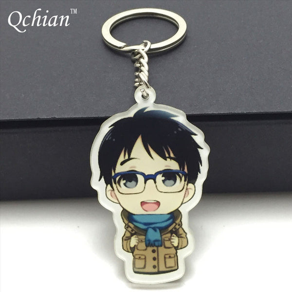 Yuri!!! On ICE - Acrylic Keyring Keychains