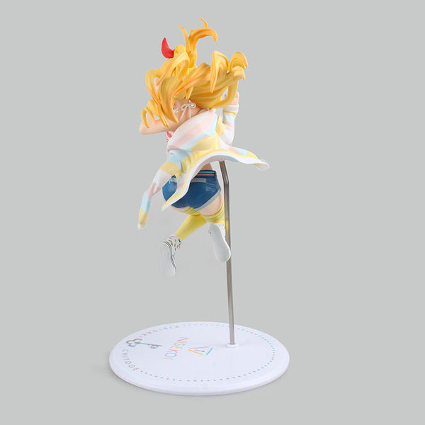 Anime Warehouse | Chitoge Kirisaki Jumping - Nisekoi/False Love Anime PVC Figure Rear View