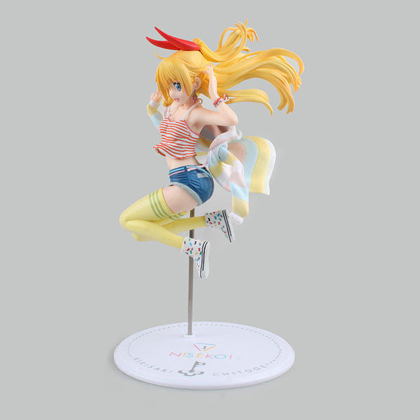 Anime Warehouse | Chitoge Kirisaki Jumping - Nisekoi/False Love Anime PVC Figure Side View