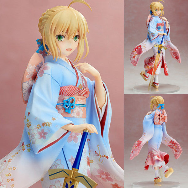 Anime Warehouse | Saber in a Kimono - Fate/Stay Night High Quality Anime PVC Figure