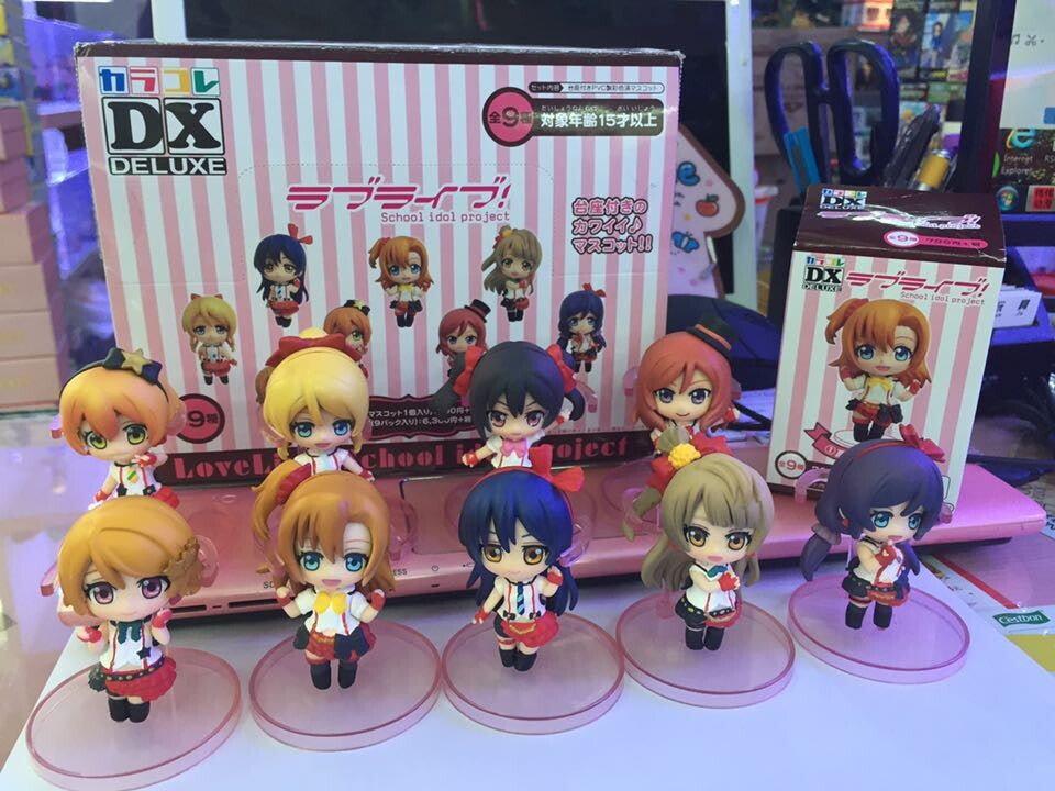 Anime Warehouse | 9pcs Love Live! School Idol Project Boxed Anime PVC Figure Collection