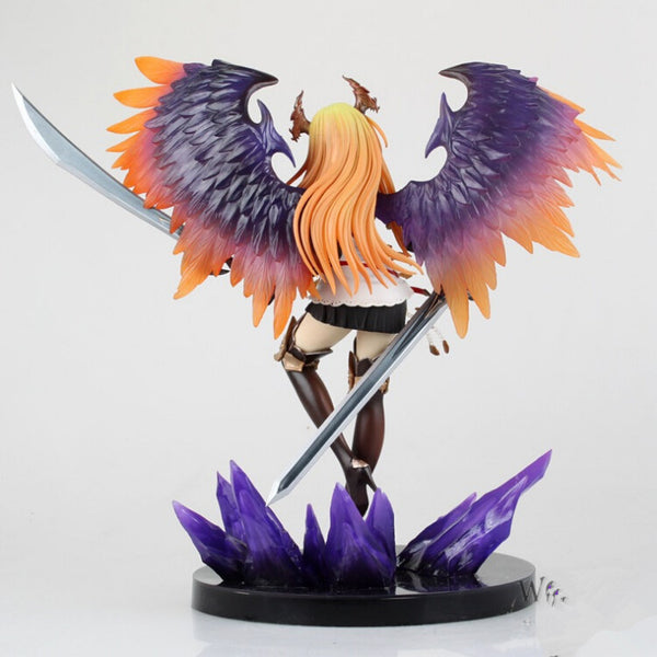 Anime Warehouse | Olivia - Rage of Bahamut: Genesis Dark Angel Olivia Super High Quality PVC Figure Rear View